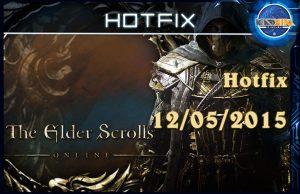 Hotfix eso 12/05/2015
