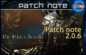 Patch note eso 2.0.6