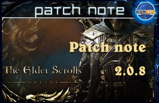 patch note eso 2.0.8