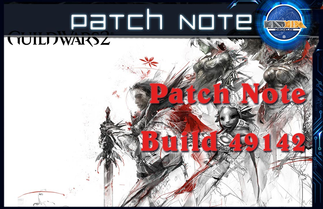 Game updates - Guild Wars 2 Wiki GW2W