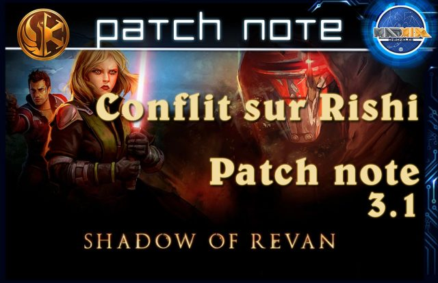 patch note swtor 3.1
