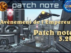 Patch note swtor 3.2b