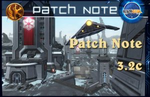 Patch note swtor 3.2c