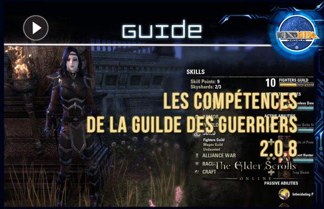ESO guilde des guerriers